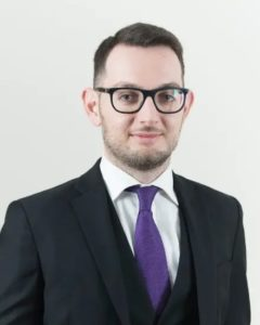 Dirk Urpani CSB Legal Associate